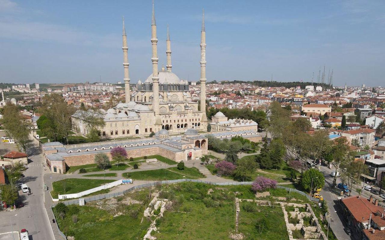 Cumhurbaşkanı Erdoğan'ın talimat verdi! Selimiye Camisi çevre düzenlemesine başlanıyor