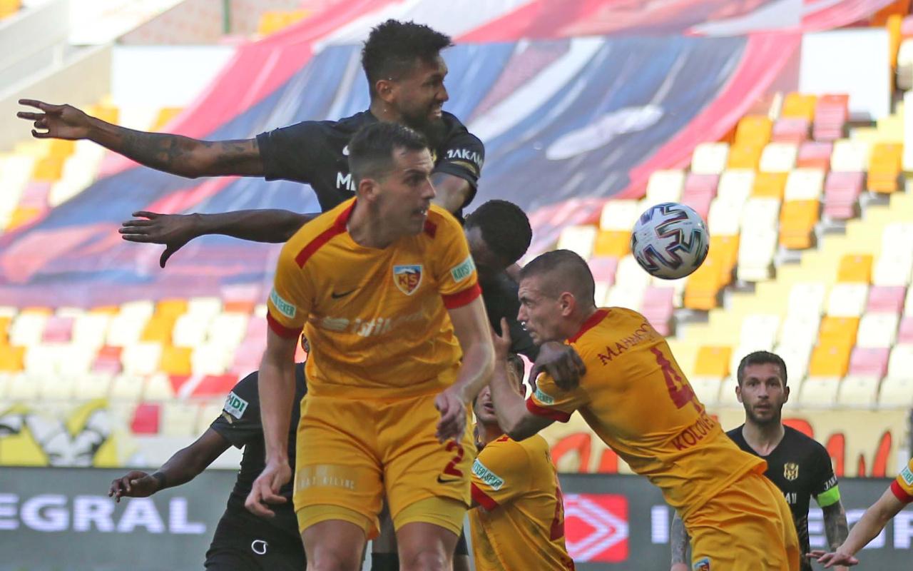 Yeni Malatyaspor ile Kayserispor puanları paylaştı
