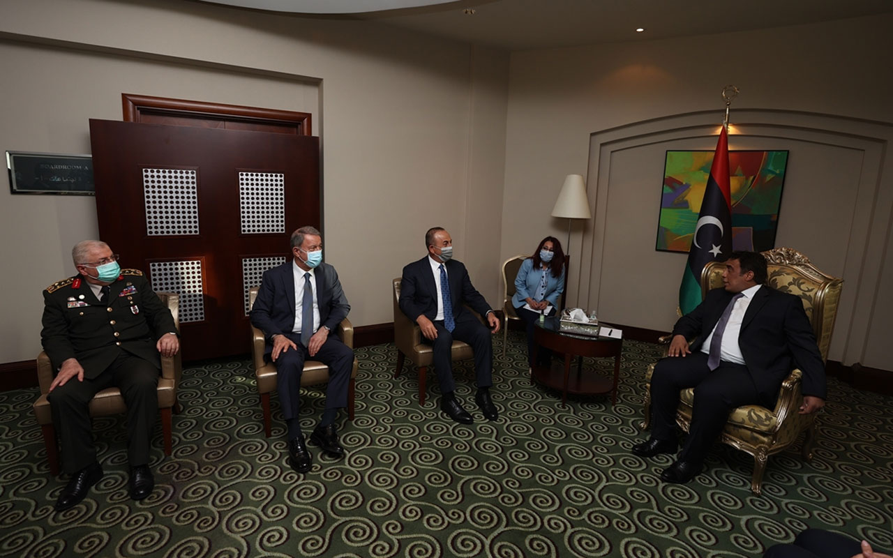 Türkiye'nin Libya temasları sürüyor