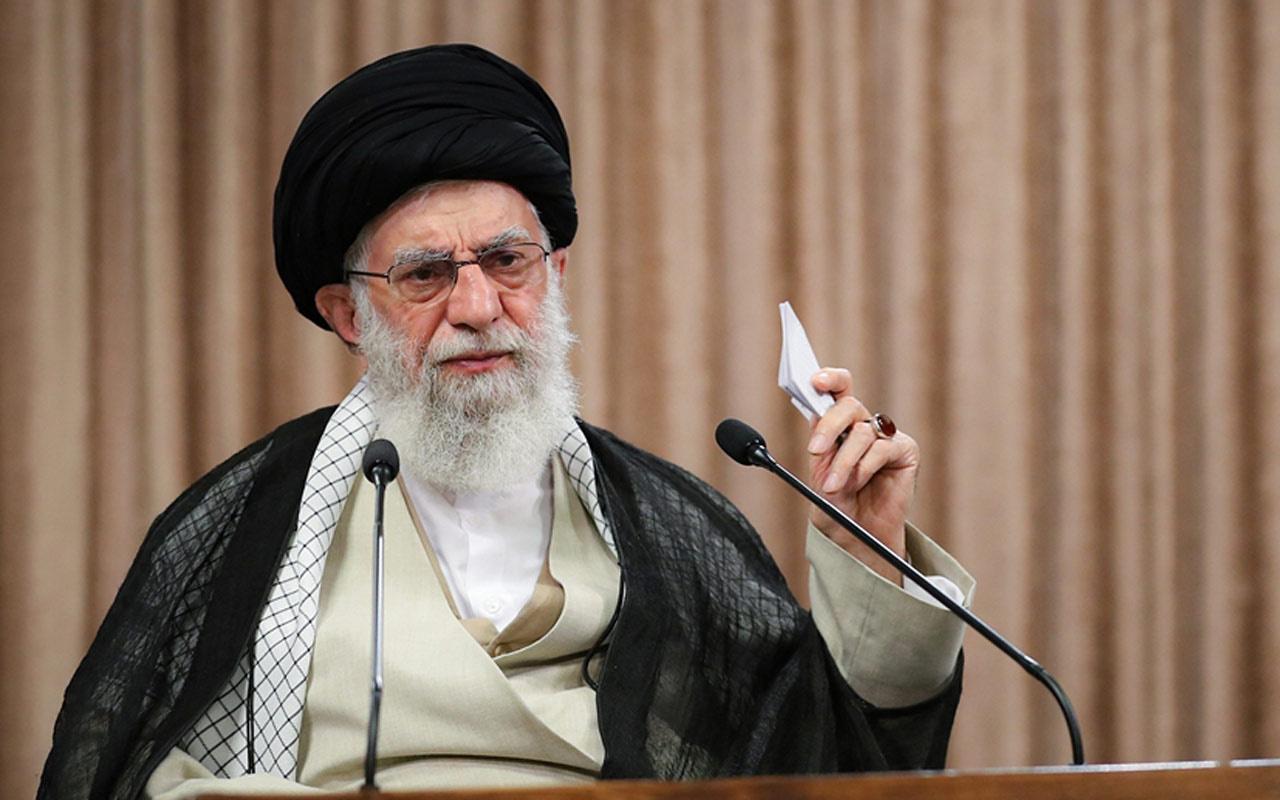 İran lideri Ali Hamaney'den Zarif'in sızırılan ses kaydıyla ilgili açıklama