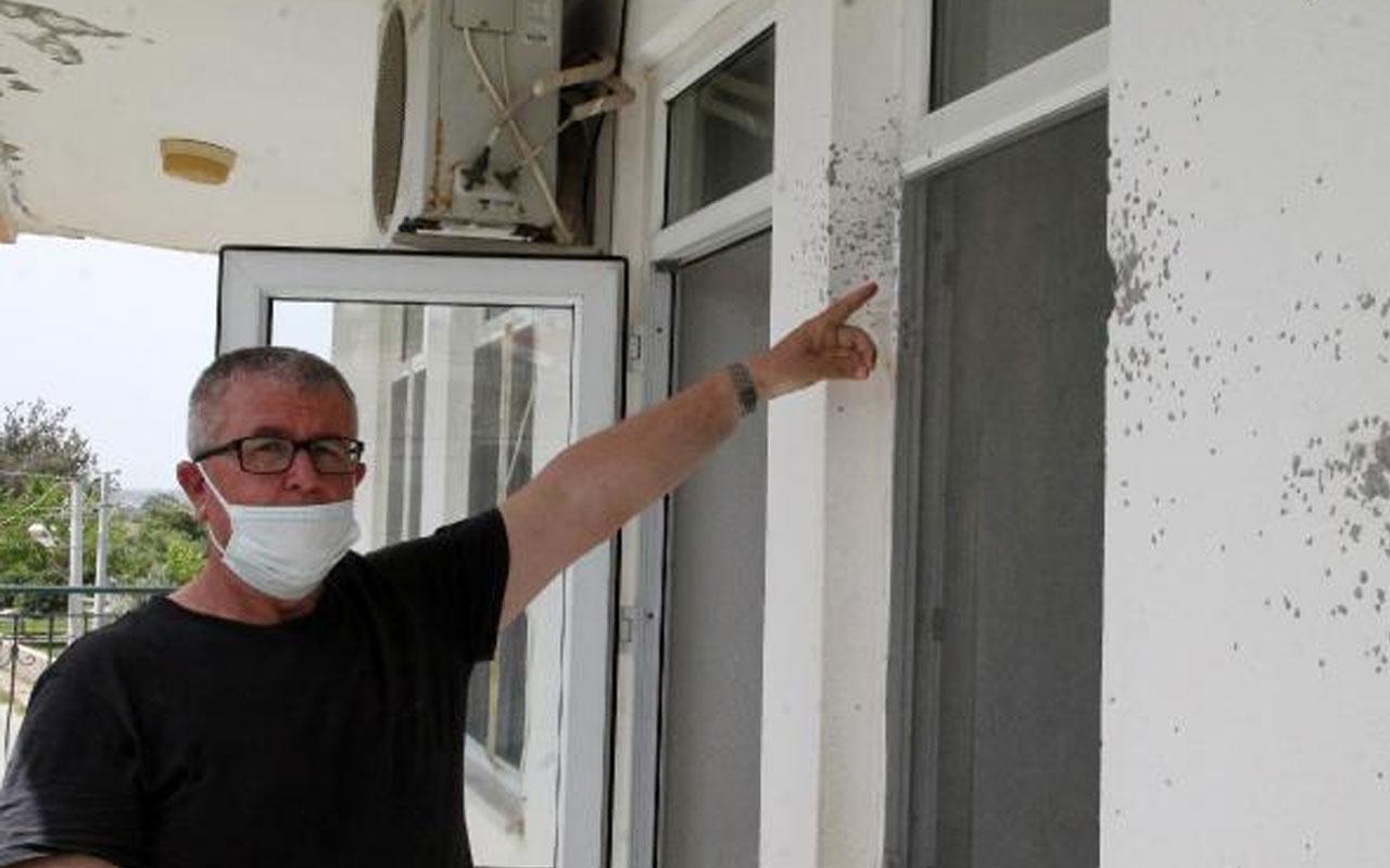 Olay yeri Antalya! İftar vakti evlerine ateş açılan aile dehşeti yaşadı