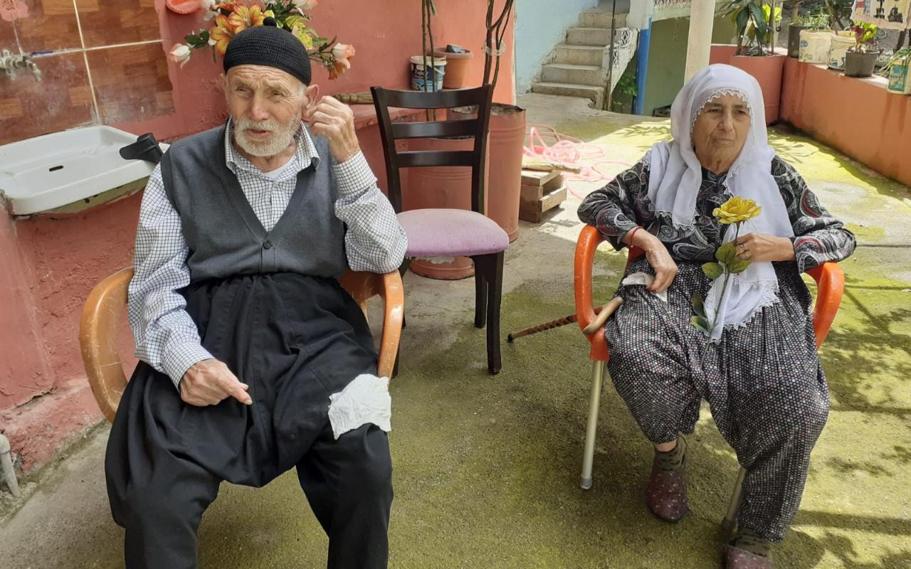 Osmaniye'de 90'lık çift koronavirüsü yendi