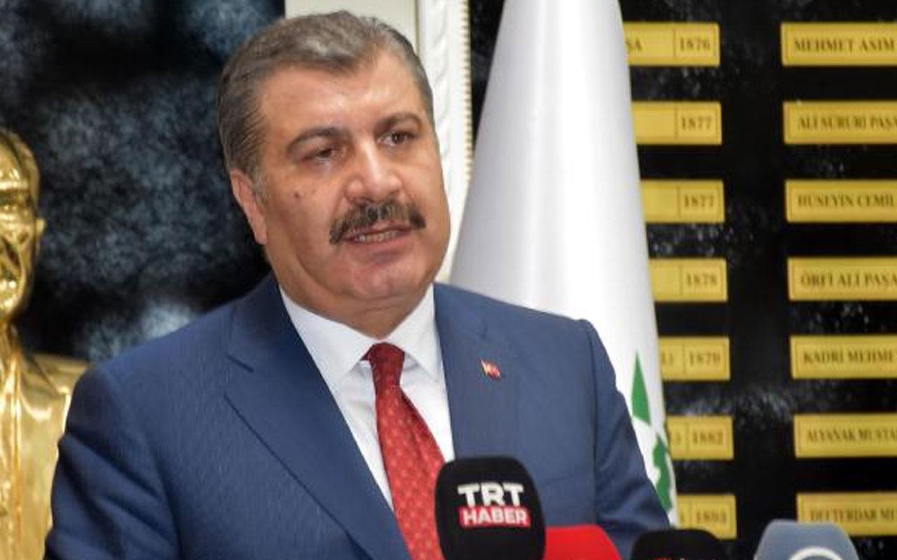 Sağlık Bakanı Fahrettin Koca açıkladı: Hastane başvuruları yarı yarıya düştü