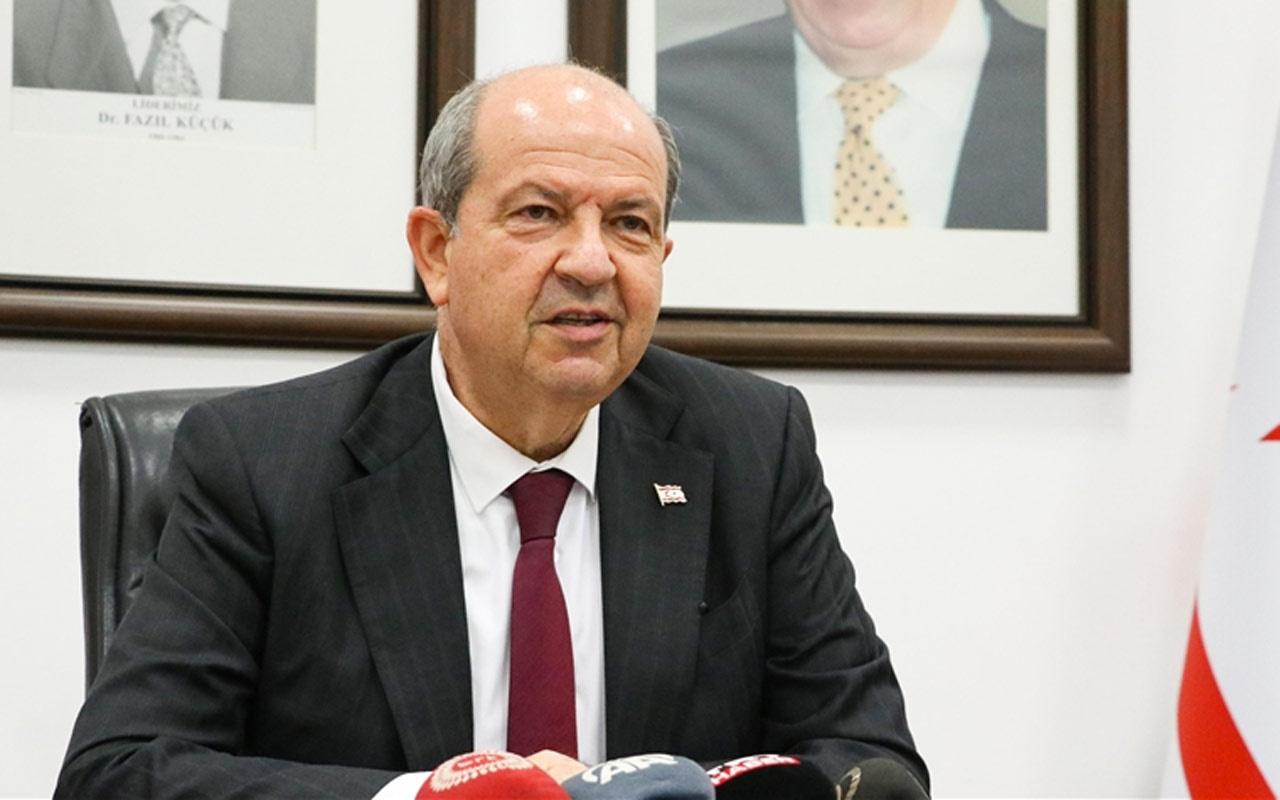KKTC Cumhurbaşkanı Ersin Tatar'dan Rum lidere yanıt: Osmanlı torunu Türk oğluyuz