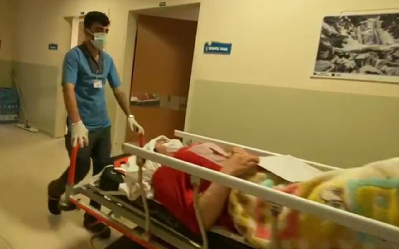 Telefonla konuşurken pencereden düşen Aslı, ağır yaralandı