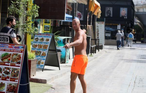 Antalya'da kadın polise ahlaksız teklif! O İngiliz turist karakolda çark etti