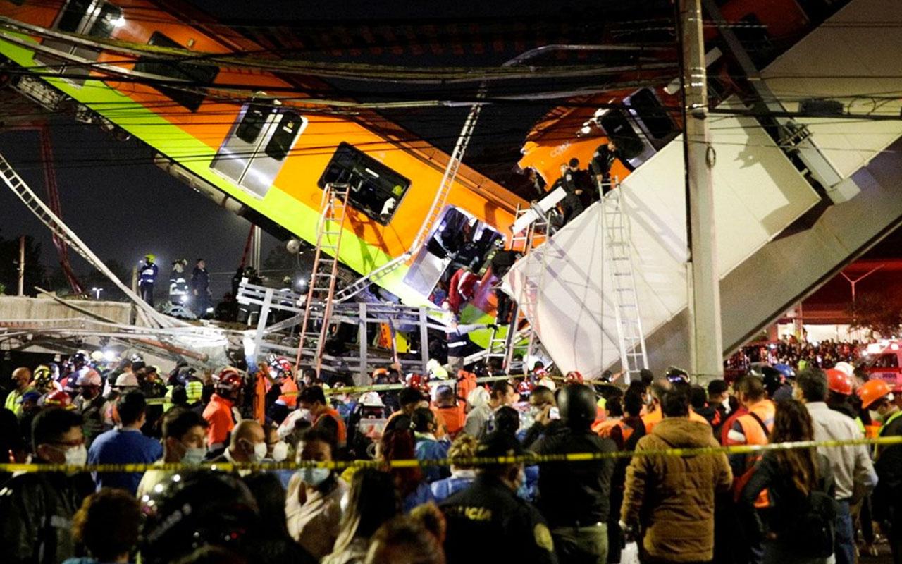 Meksika'da metro faciası! 15 kişi öldü, 70 kişi yaralandı