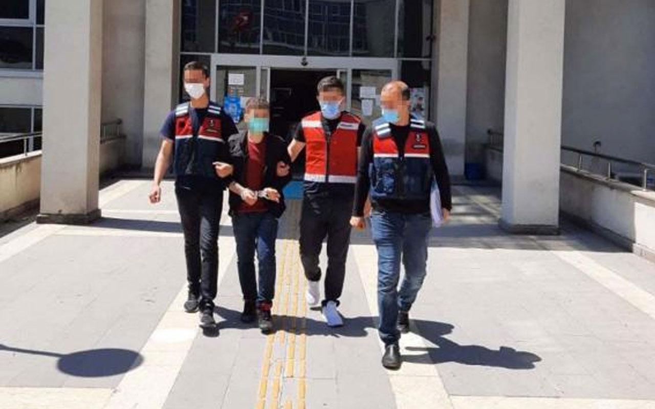 Osmaniye'de 20 yıl 8 ay cezası bulunan cezaevi firarisi yakalandı