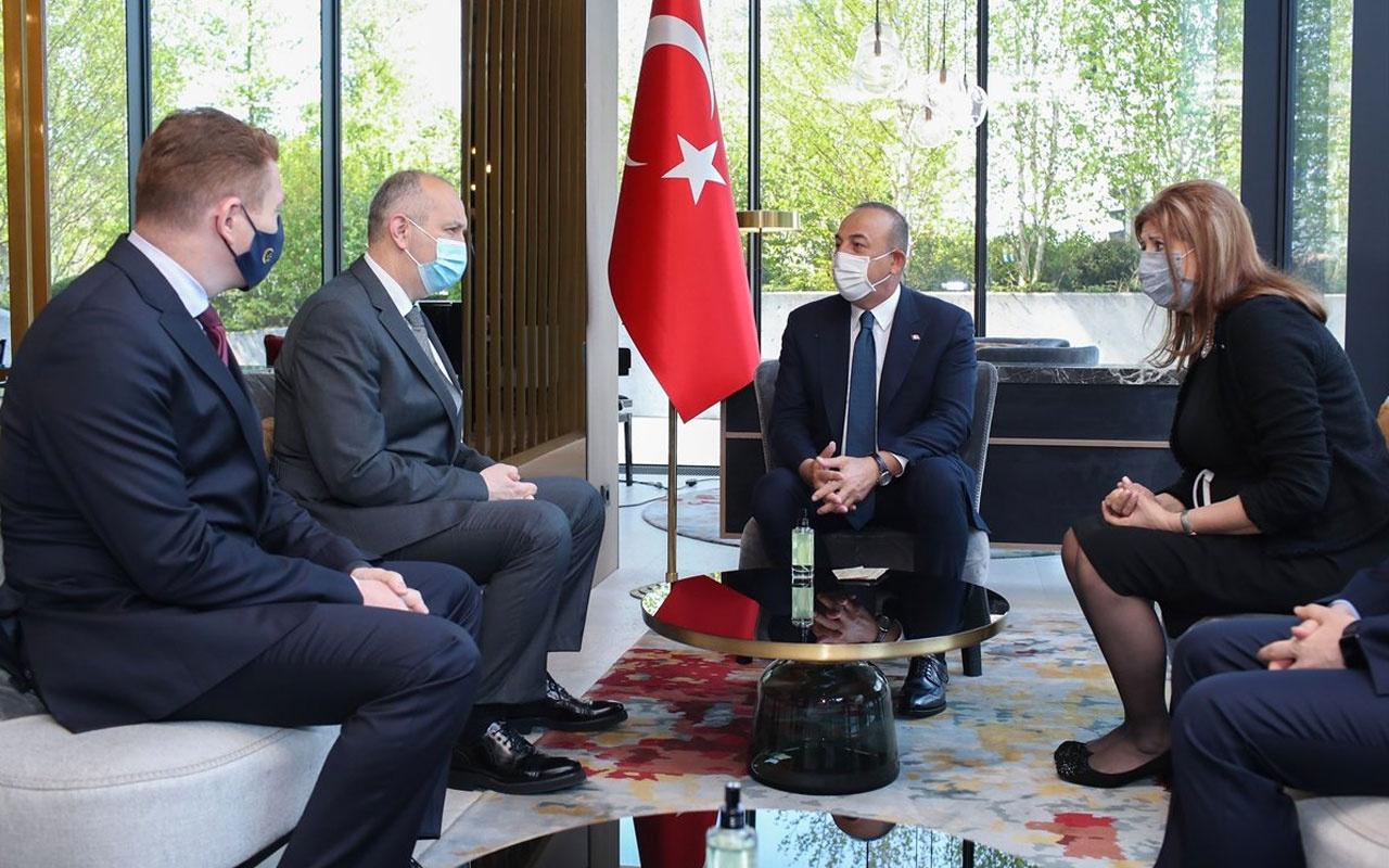 Dışişleri Bakanı Mevlüt Çavuşoğlu, Slovenya'da