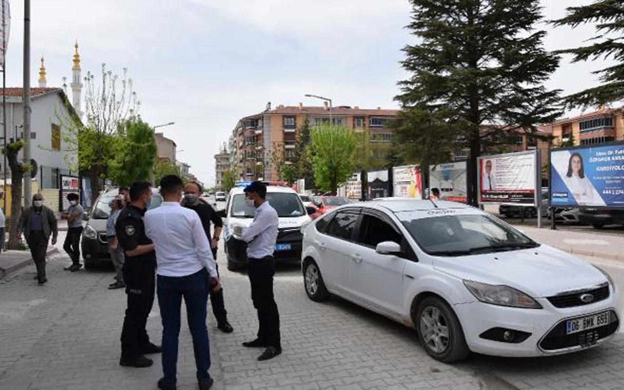 Olay yeri Konya! 'Hortum almaya çıktık' dediler 3 bin 150'şer lira ceza yediler