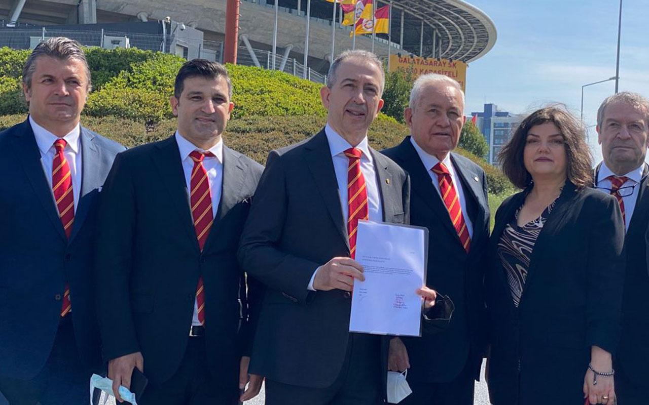 Metin Öztürk'ten Galatasaray başkanlığına adaylık başvurusu