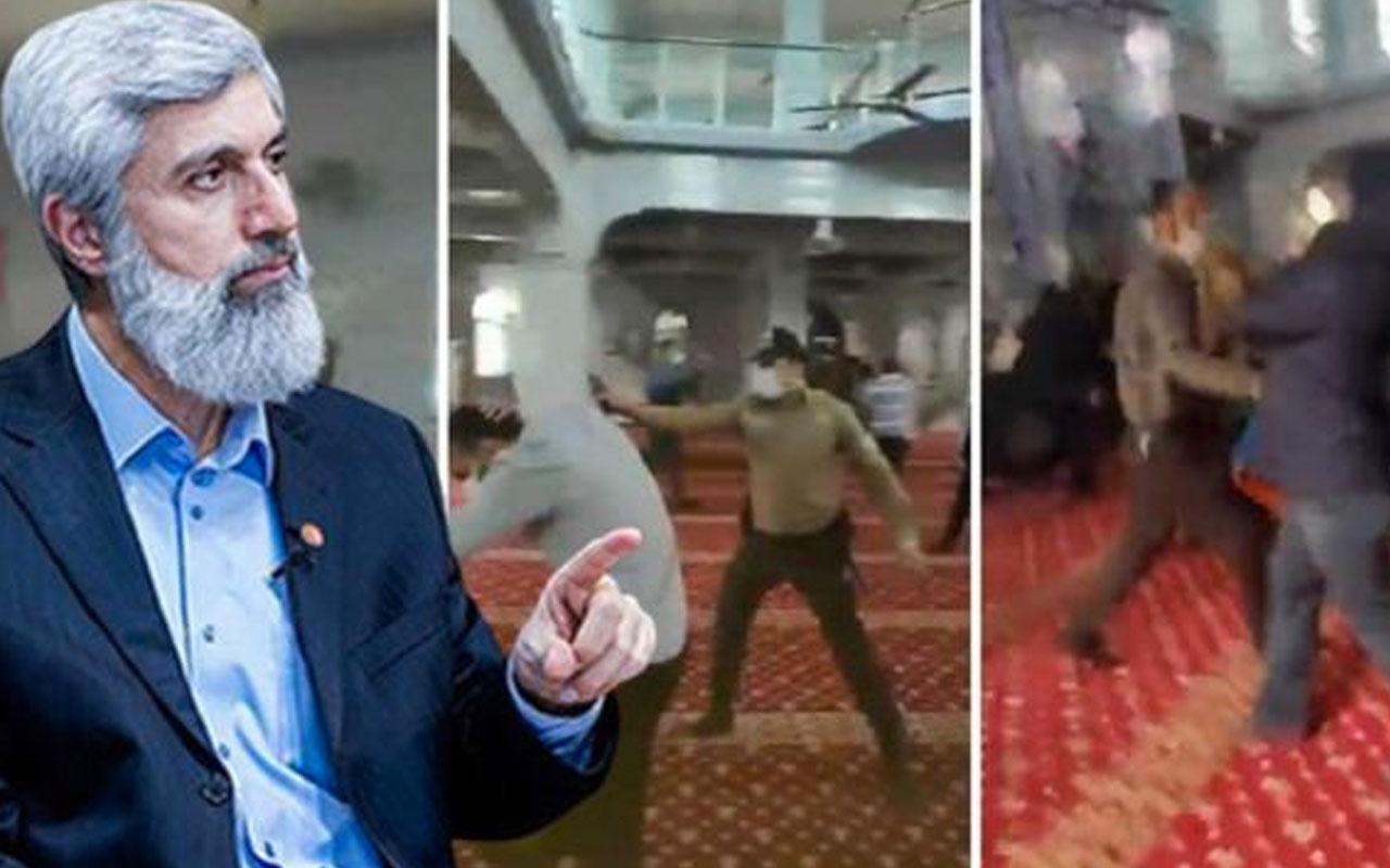 Camide biber gazlı müdahale görüntüleri! İçişleri Bakanlığı olayın perde arkasını anlattı