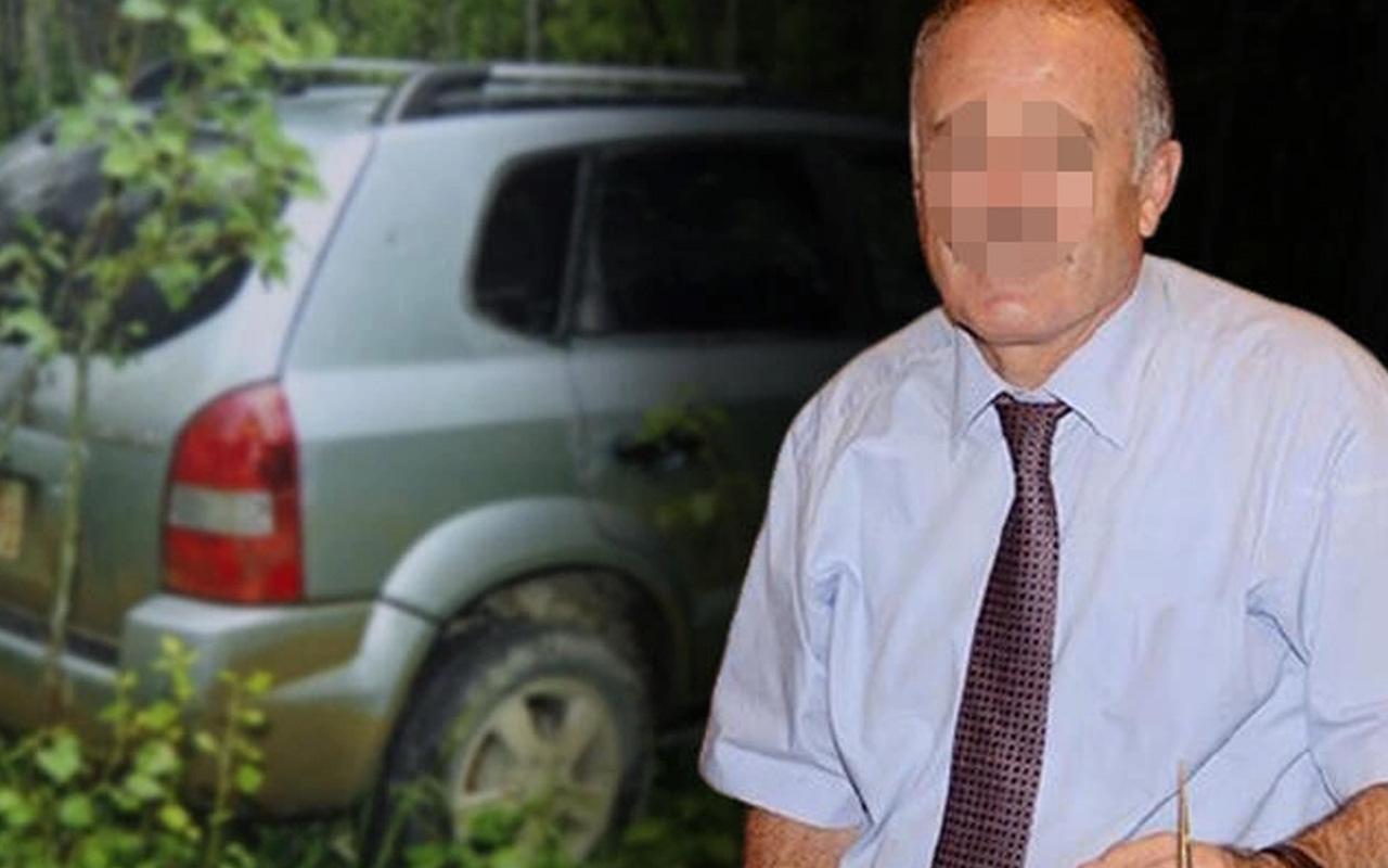 Eski kaymakam ormanda kiralık araç içerisinde cinsel ilişkiye girerken basıldı