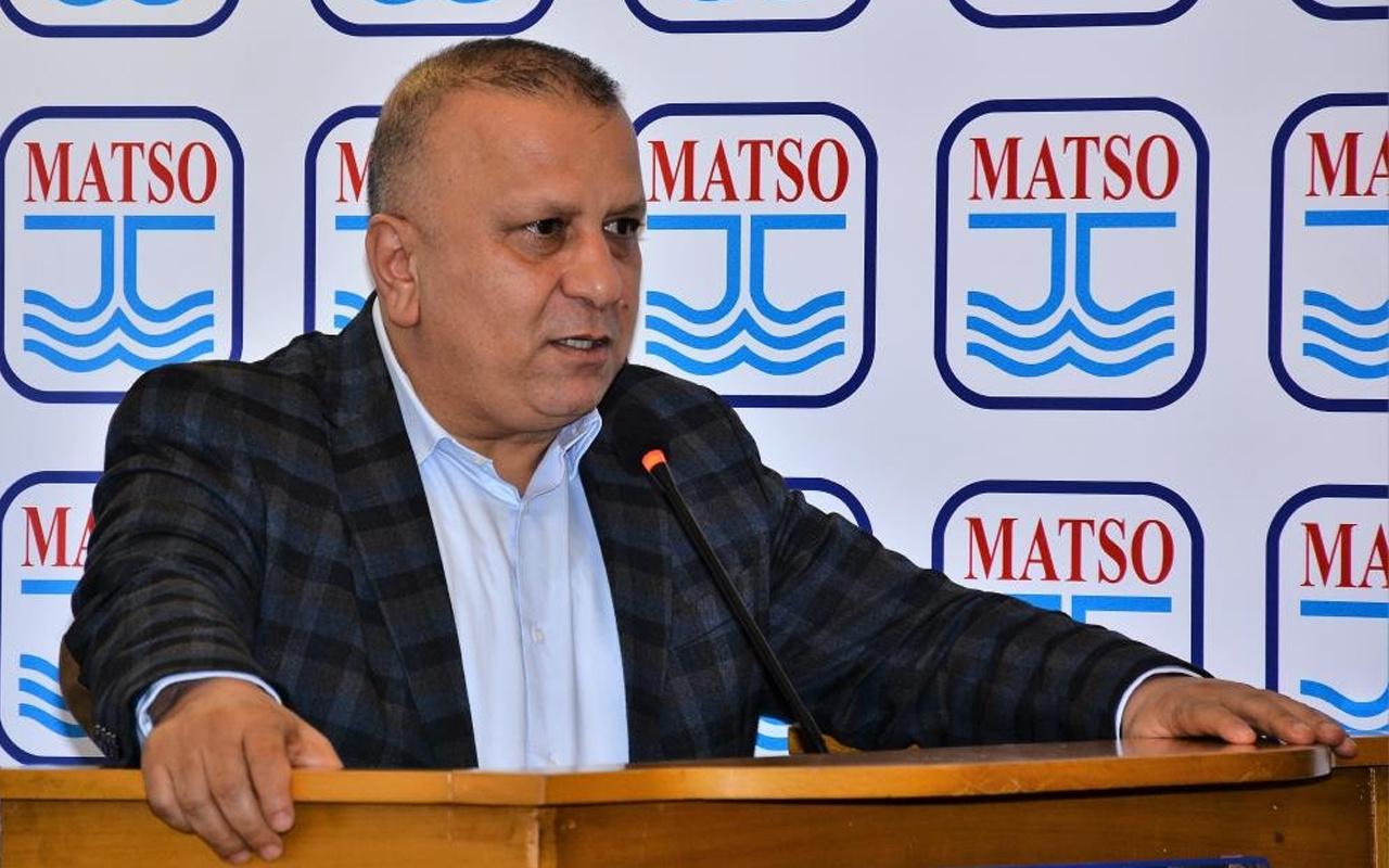 Antalya'da MATSO Başkanı Ahmet Boztaş covid-19'a yenik düştü