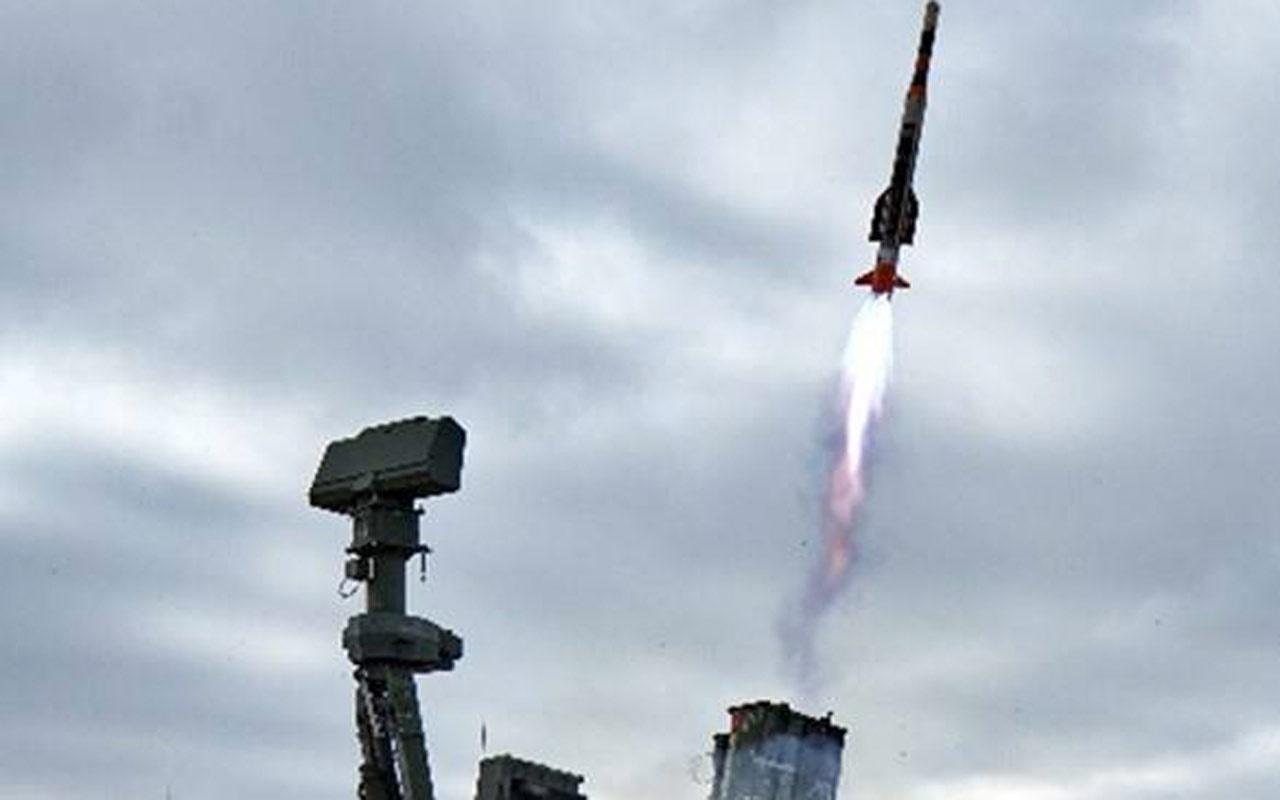 HİSAR-A füzesi Aksaray'da yapılan atışta hedef uçağı başarıyla vurdu