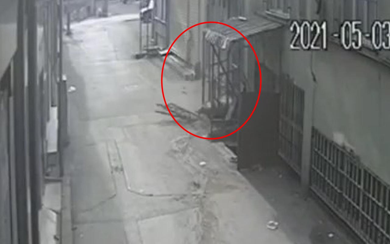 Bursa'da 23 yaşındaki genç 5. kattan yere çakıldı! İşte o anlar
