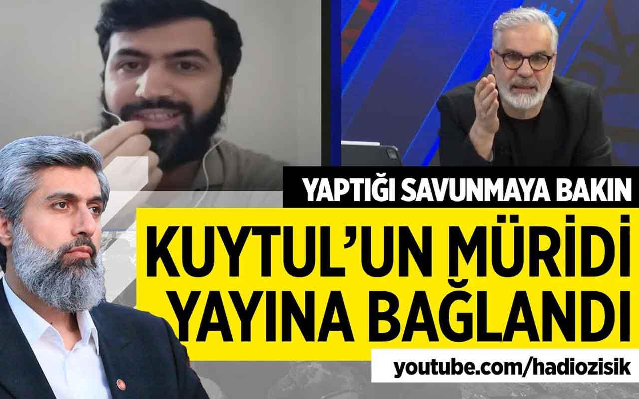 Canlı yayında Alparslan Kuytul'un sevdalısı bağlandı. Tartışma çıktı!