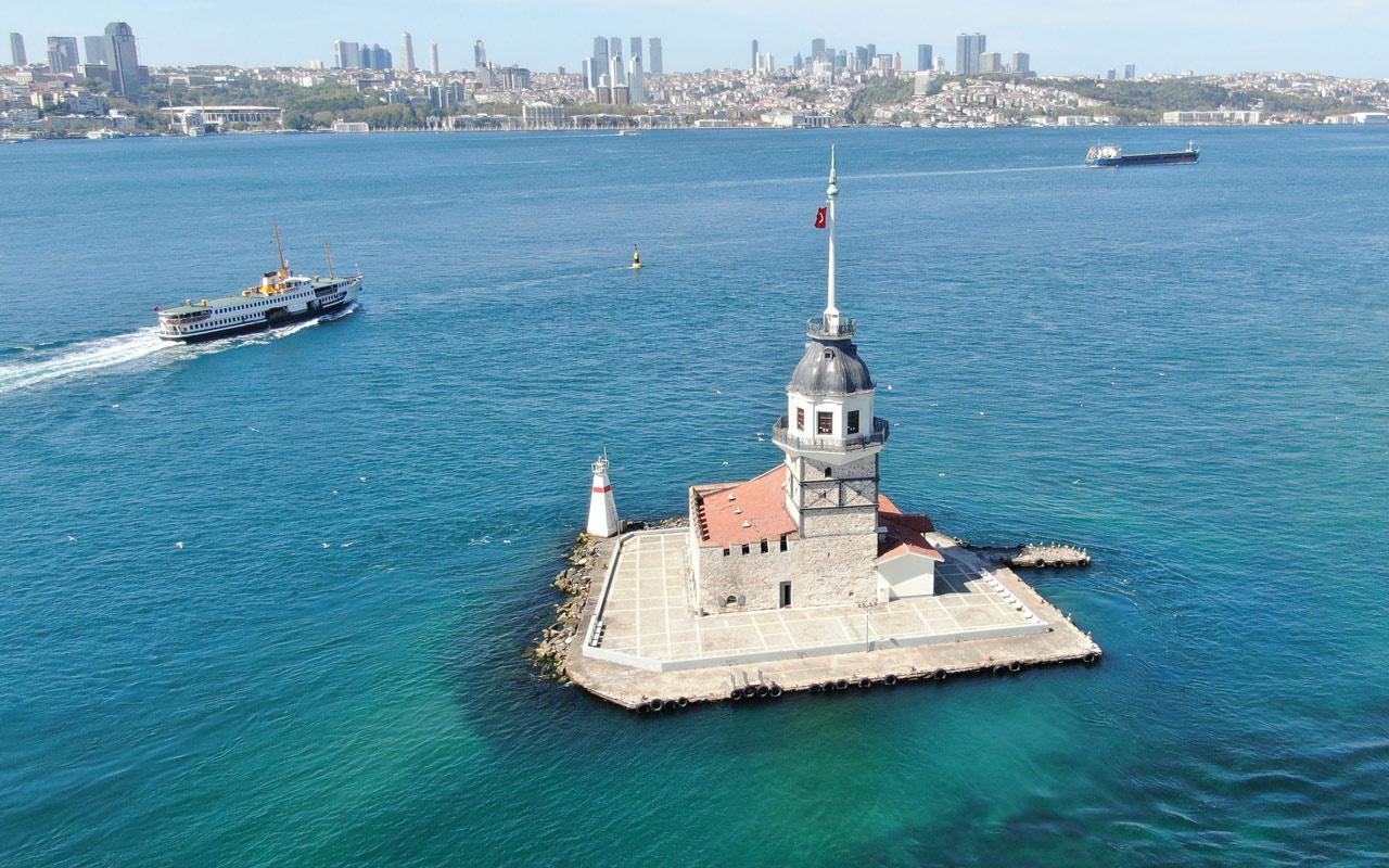 Yeniden Bakanlığa geçen Kız Kulesi'yle ilgili önemli karar