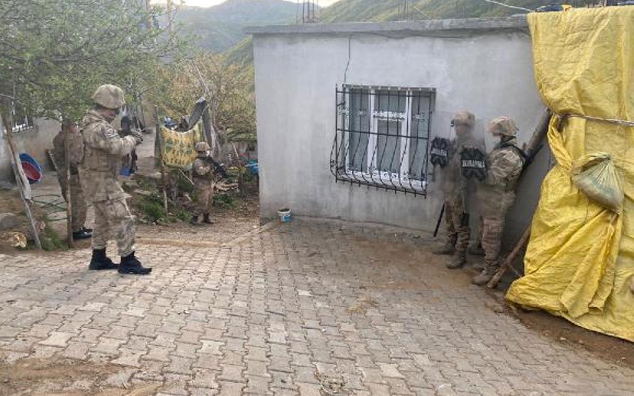 Bitlis merkezli 4 ilde PKK operasyonu! 9 şüpheli gözaltına alındı