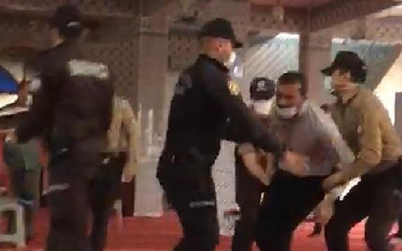 Gaziantep'te camide eylem yapan 76 kişi serbest bırakıldı