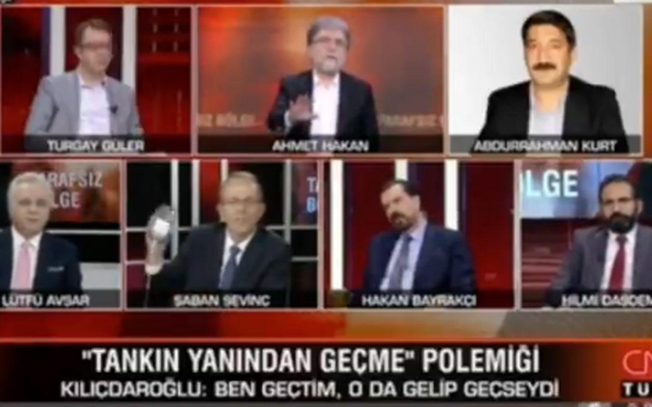 CNN Türk'te canlı yayında FETÖ kavgası: Siz utanmaz bir adamsınız