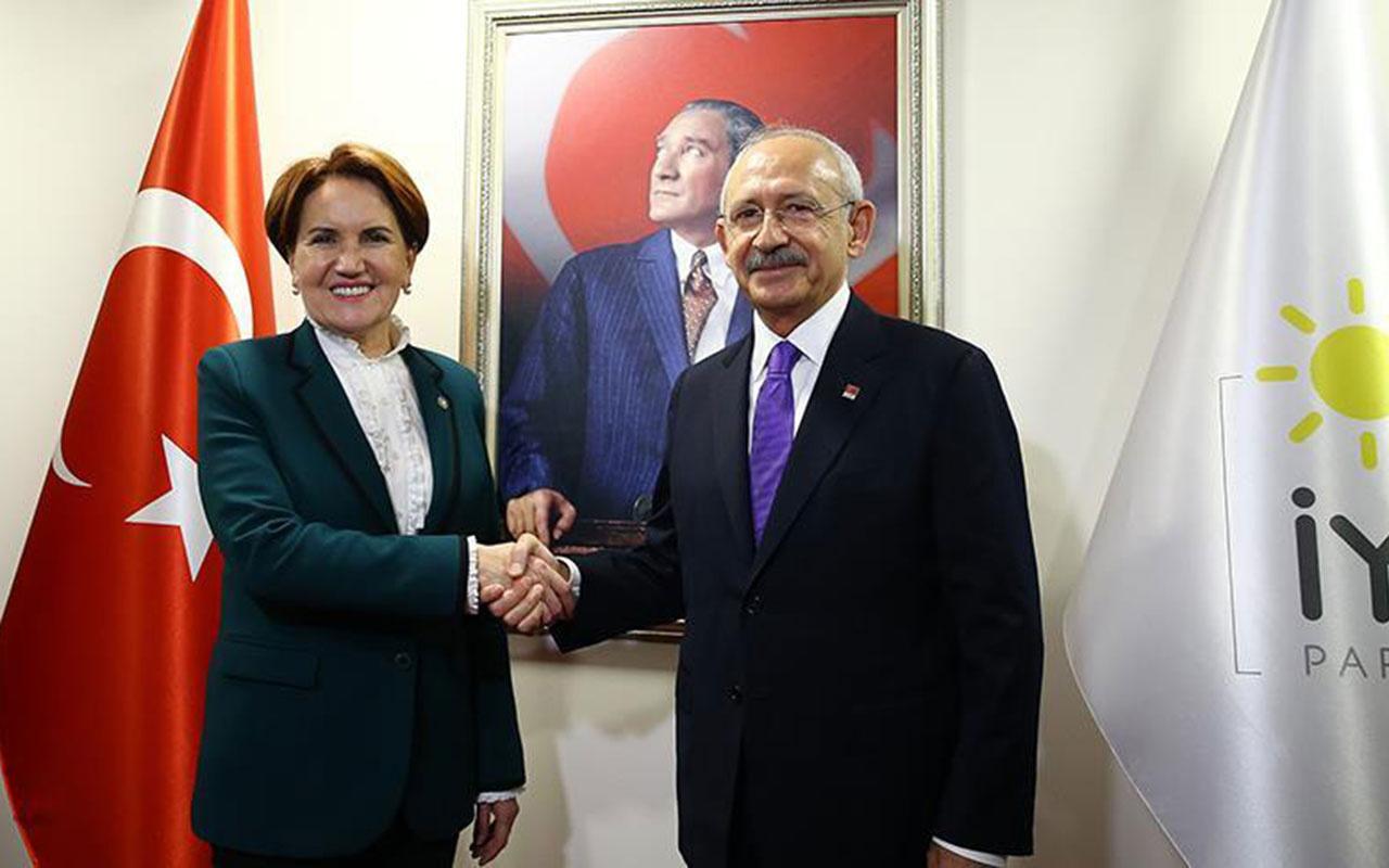 Millet İttifakı'nda aday oyunları! Meral Akşener mi Kemal Kılıçdaroğlu mu?