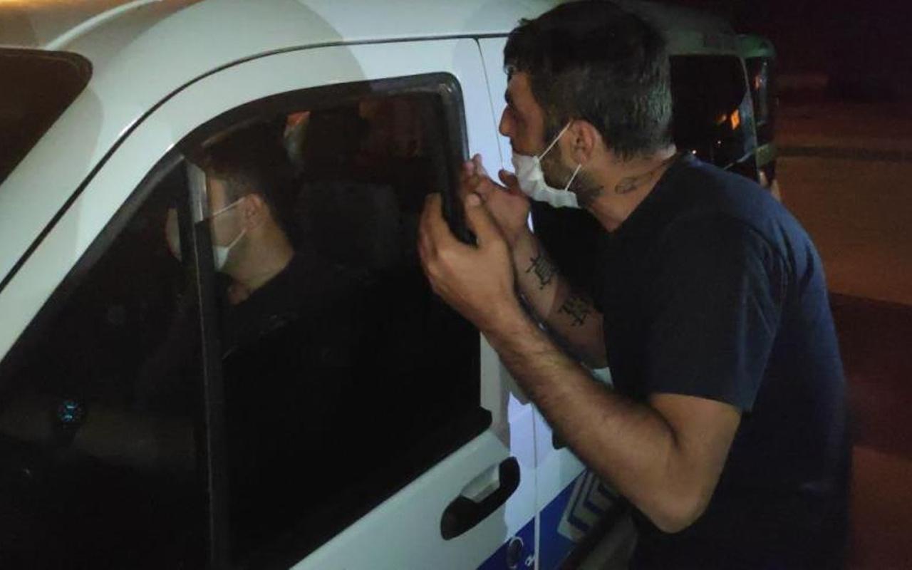 Denizli'de alkollü sürücü polisleri çileden çıkarttı: Benim devletim...
