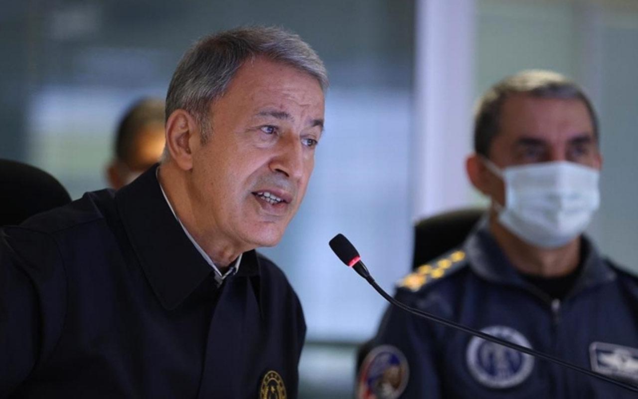 Milli Savunma Bakanı Hulusi Akar'dan Irak'a nota yanıtı