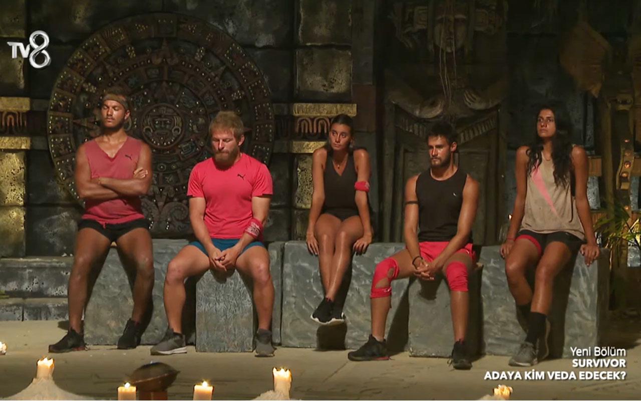 Survivor'da bakın kim elendi takım arkadaşları potaya koymuştu