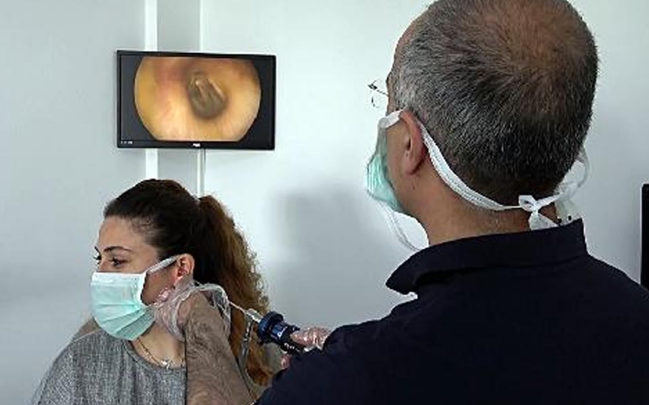 Kulaktan çıkanlara kimse inanamadı! Düzce'de doktor 17 yılda biriktirdi: Gerçekten büyüktü