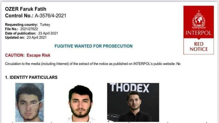 Kripto Tosuncuk Thodex'in CEO'su Faruk Fatih Özer ilk kez görüntülendi! İşte o anlar