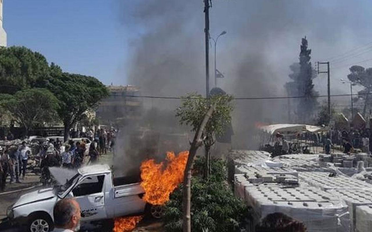 Azez'de iftar öncesi bombalı saldırı