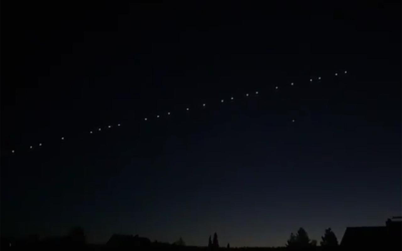 Elon Musk'ın Starlink uyduları Türkiye'nin birçok ilinde görüldü