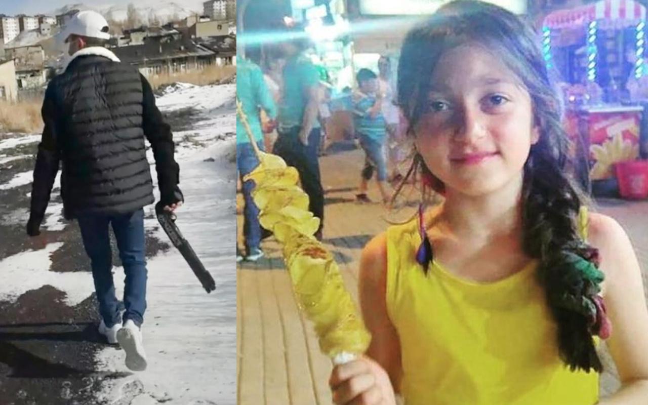 Erzurum'da maganda kurşunu gözüne isabet eden 13 yaşındaki Pınar öldü