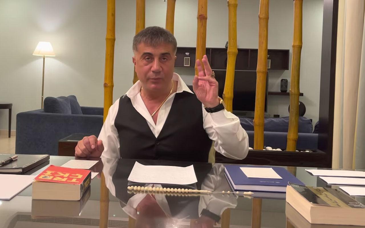 Sedat Peker'den olay açıklamalar! 'Mehmet Ağar' ve 'Pelikancılar' için neler söyledi?