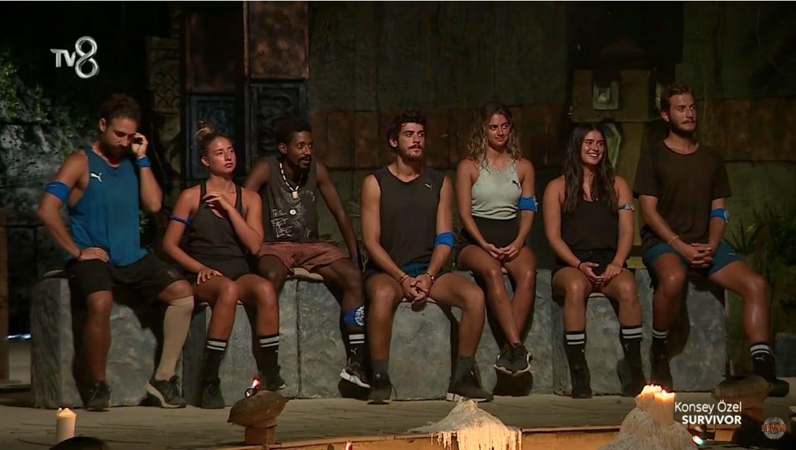 Survivor'da yeni takımlar nasıl oldu ünlüler ve gönüllüler karıştı işte yeni takımlar