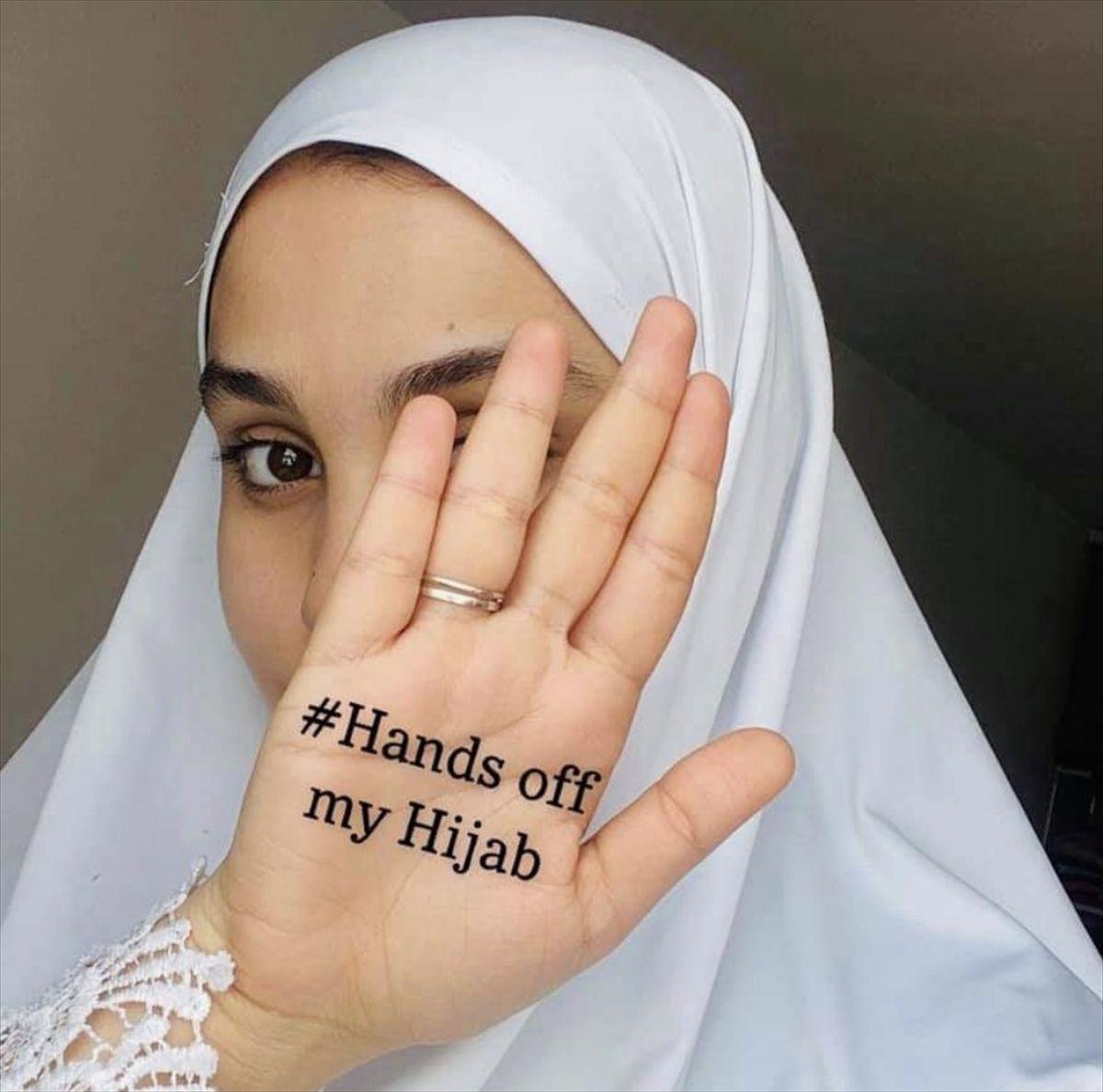 Fransa'da Müslüman kadınlar sosyal medyada harekete geçti kampanya çığ gibi büyüyor