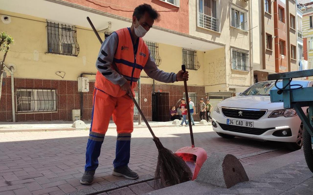 İstanbul'da her şey 2-3 saniyede oldu! 'Gelme' diye bağırıp faciayı önledi