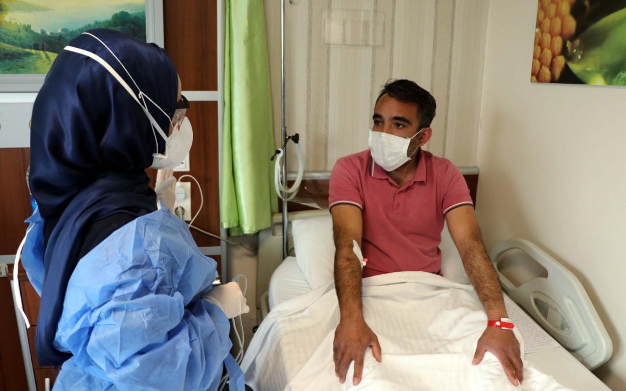 Kayseri'de 2. kez covid-19 yakalandı! Mutasyonlu virüsün farkını anlattı: Sırtımda...