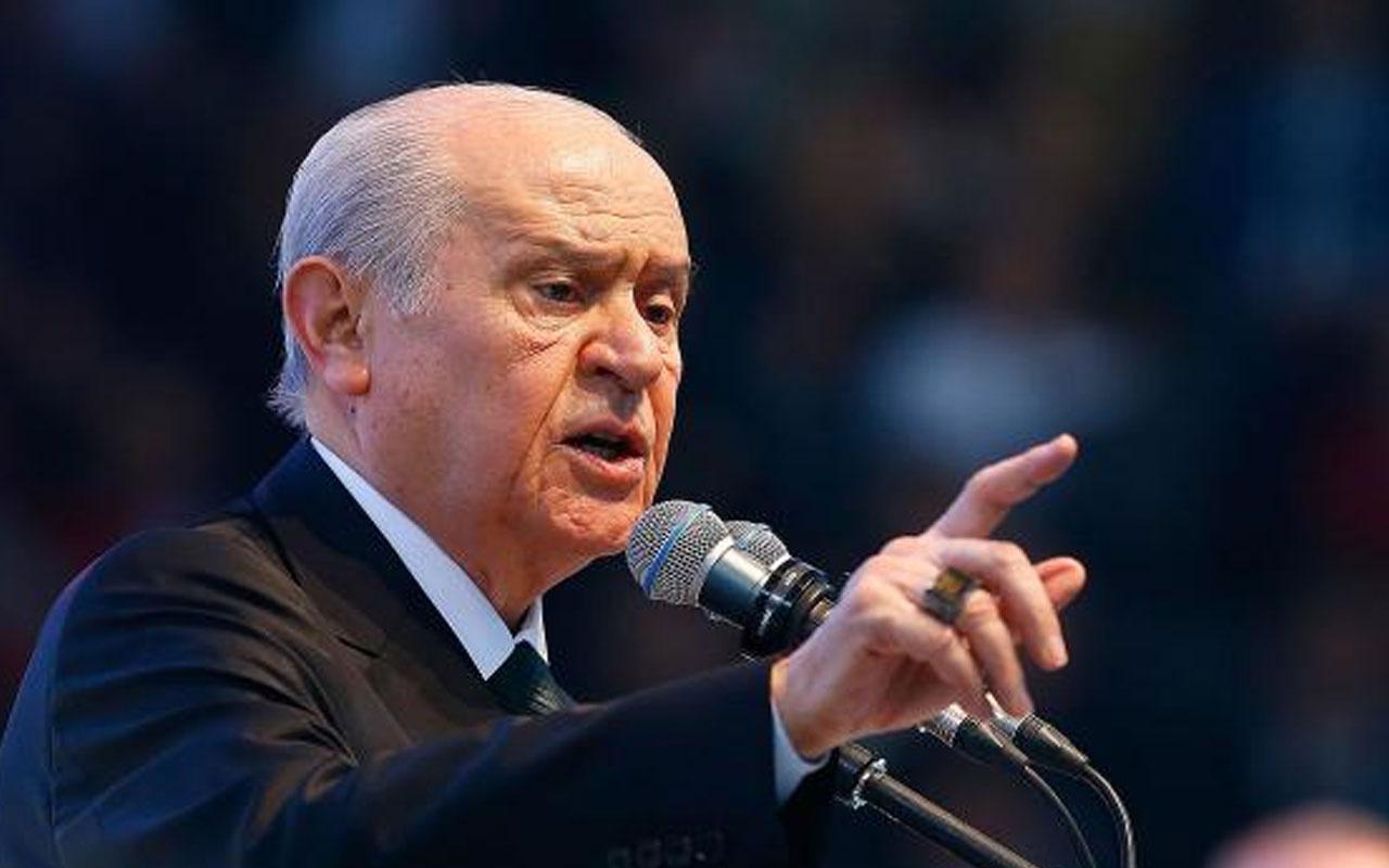 MHP lideri Devlet Bahçeli'den İsrail'e tepki: Planlı bir barbarlıktır