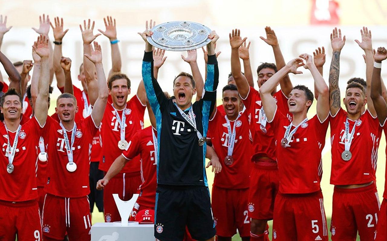 Bundesliga'nın şampiyonu Bayern Münih oldu
