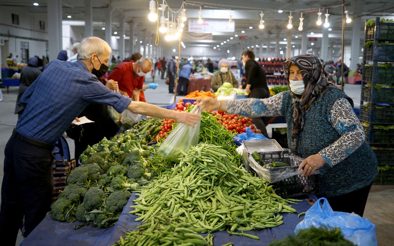 Edirne'de halk pazarlarında esnafa 'Bağırarak satış yapmayın' uyarısı