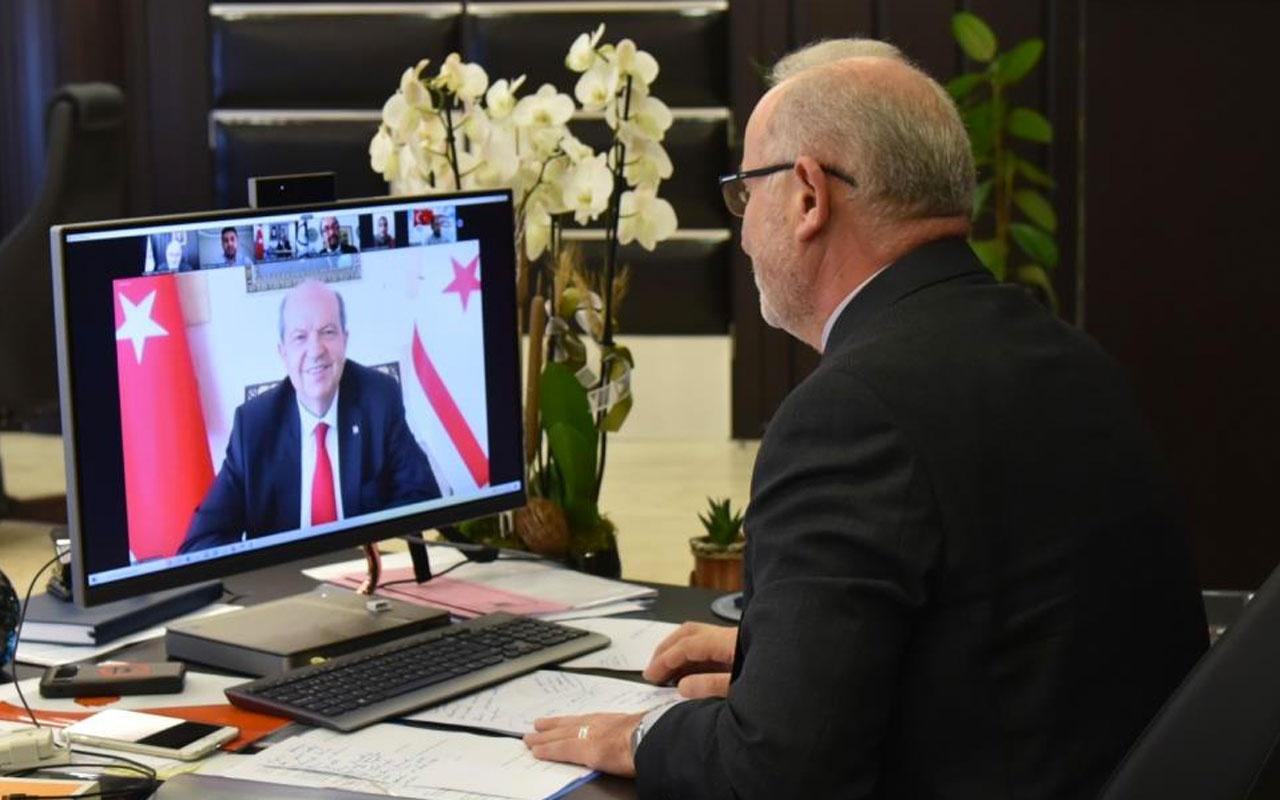Cumhurbaşkanı Ersin Tatar'dan Anastasiadis'in yüzüne Cenevre'de tokat gibi cevap