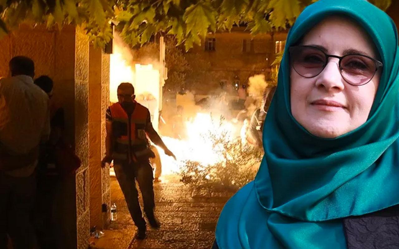 HDP'li vekil Hüda Kaya'dan skandal ''Mescid-i Aksa'' paylaşımı