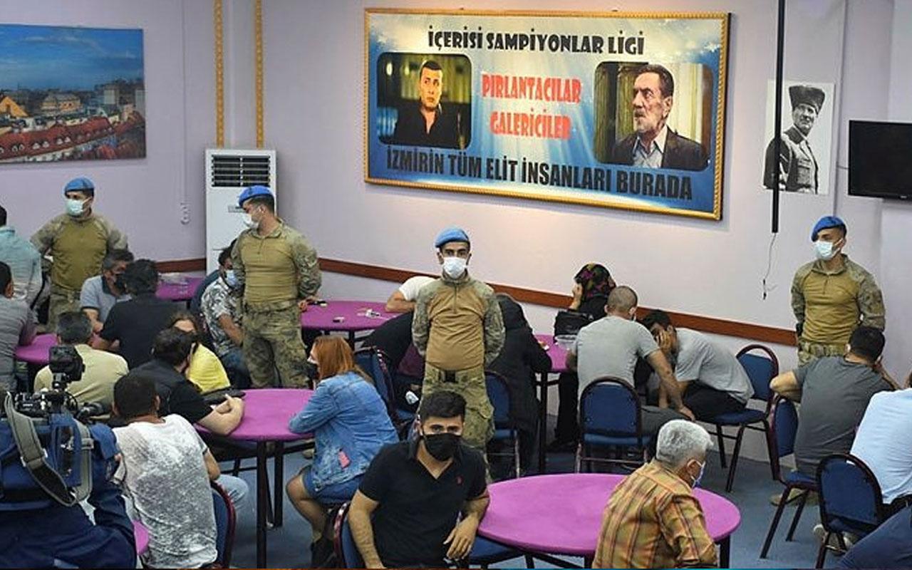 İzmir'de HES kodlu kumarhane kurmuşlar! Ekipler gizli mekana koçbaşıyla duvarı kırarak girdi