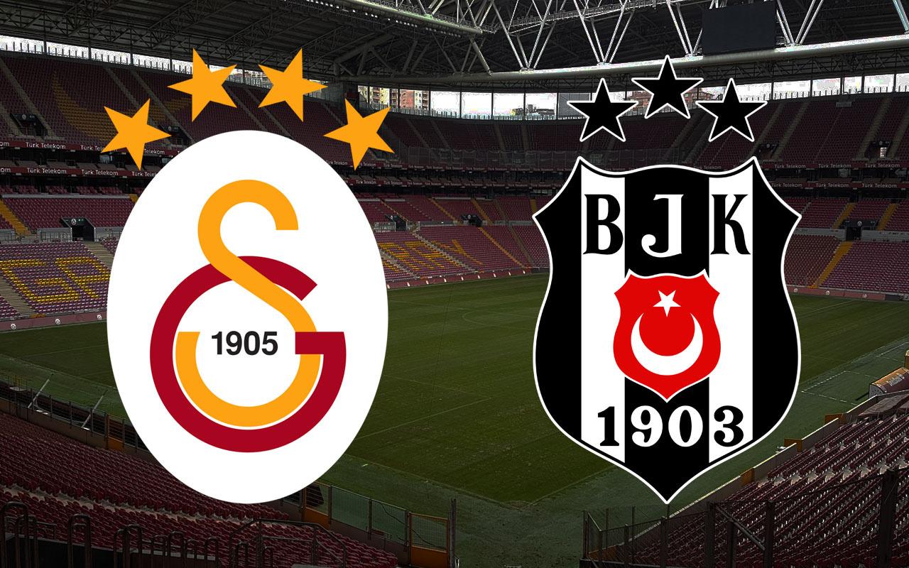 Galatasaray-Beşiktaş Süper Lig maçı (Muhtemel 11'ler)