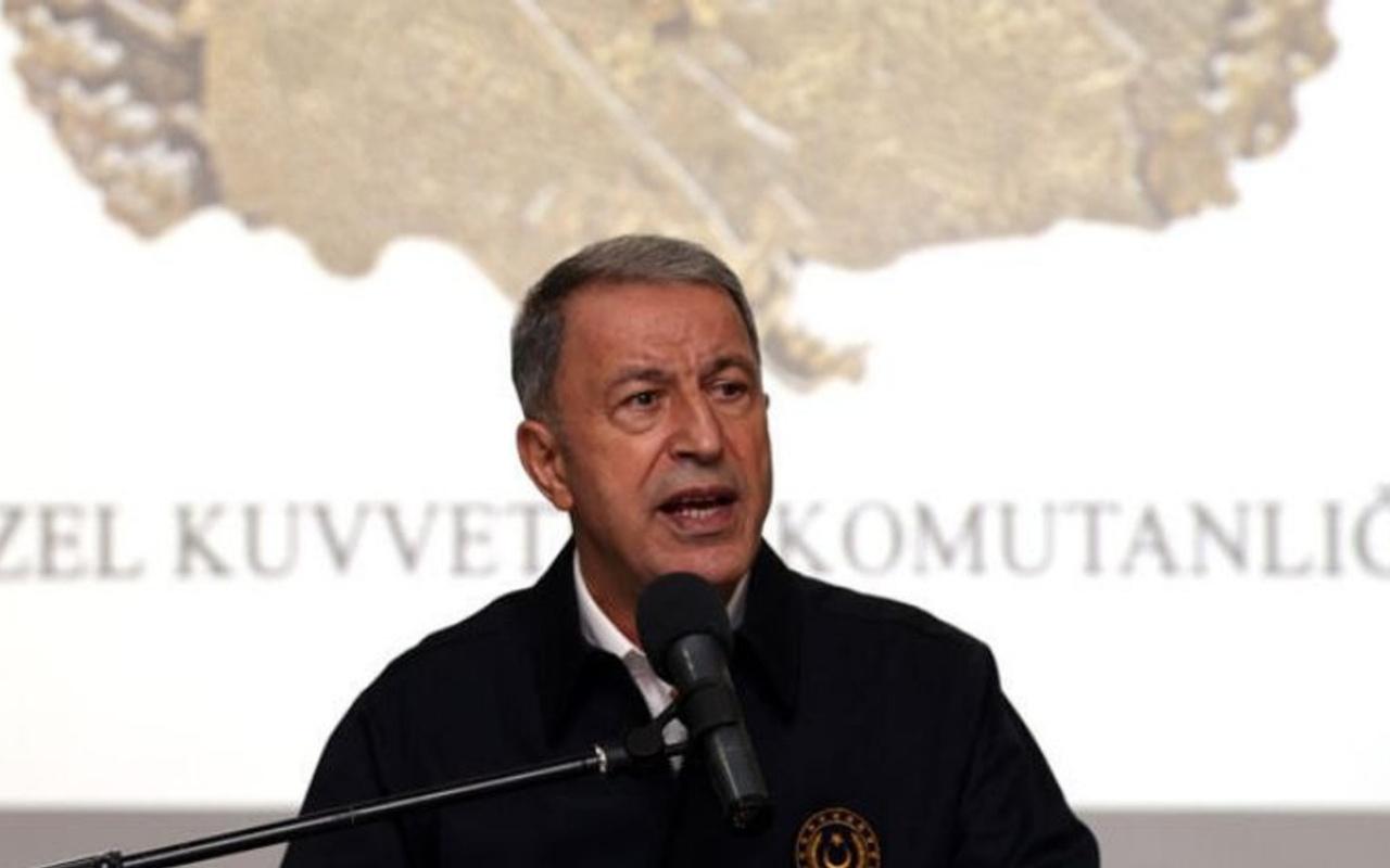 Milli Savunma Bakanı Hulusi Akar: 1 Ocak'tan itibaren 988 terörist etkisiz hale getirildi