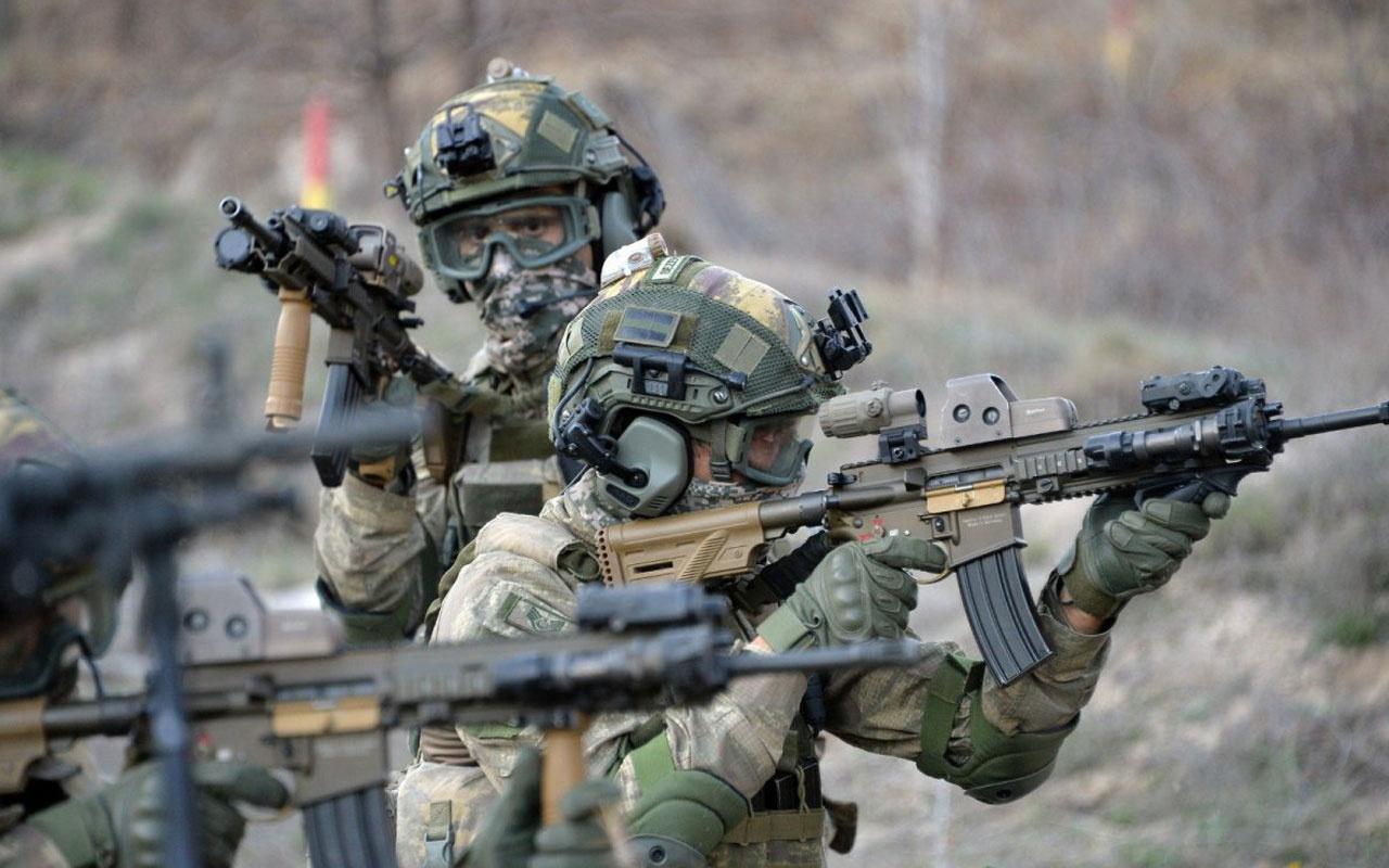 Son dakika Fırat Kalkanı bölgesinde 3 terörist öldürüldü