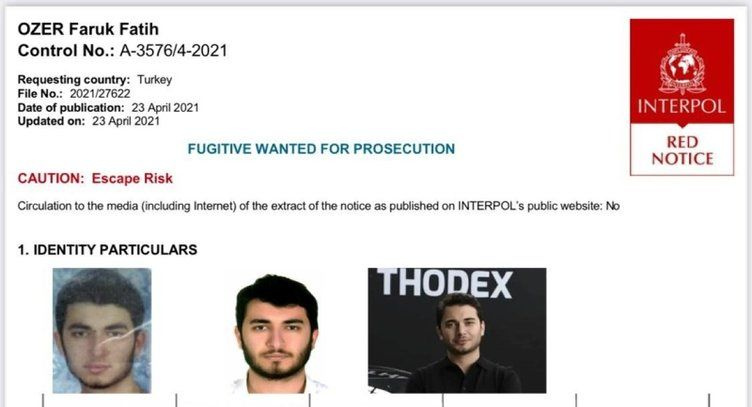 'Kripto Tosuncuk' Thodex'in CEO'su Faruk Fatih Özer lüks yatta sefa yapıyor