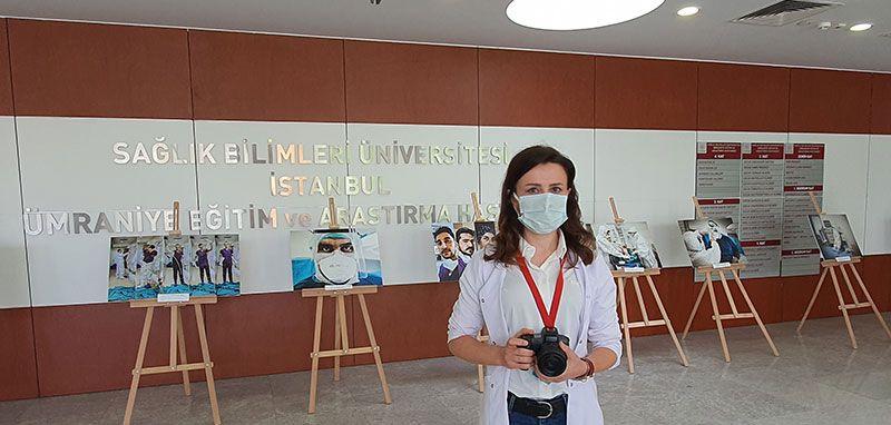 Koronavirüs savaşçılarından 'Bir fotoğraf bin hikaye'! İşte o fotoğraftaki kahraman...